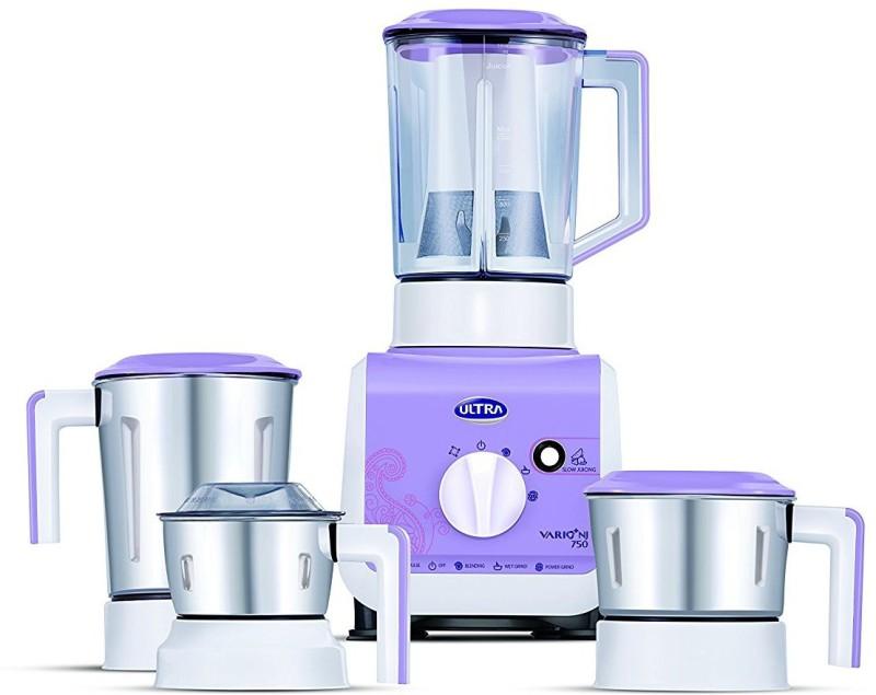 Elgi Ultra Vario Plus 750 W Purple 750 Juicer Mixer Grinder(Purple, 4 Jars)