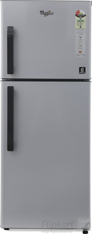 Whirlpool 245 L Frost Free Double Door 2 Star Refrigerator(Swiss Silver, NEO FR258 CLS PLUS SWISS SILVER (2S))