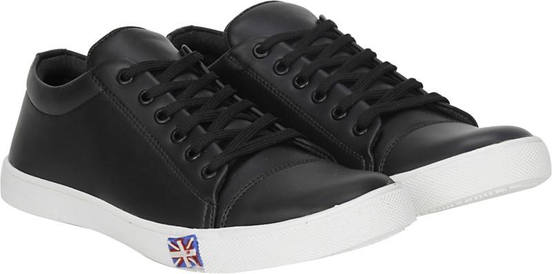 Kraasa Kick Sneakers, Casuals, Party Wear, Dancing Shoes(Black)