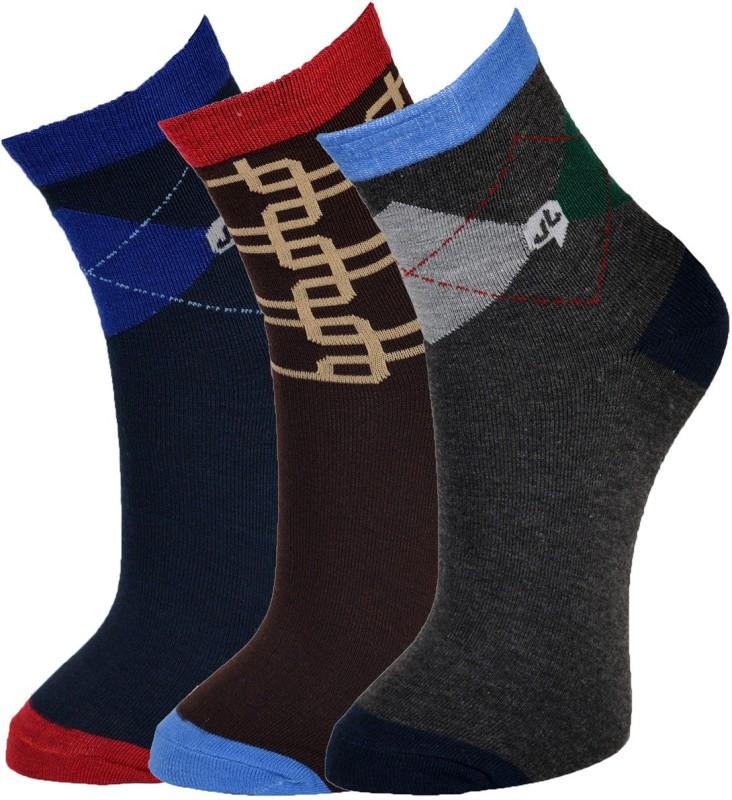 Welwear Men Crew Length Socks(Pack of 3)