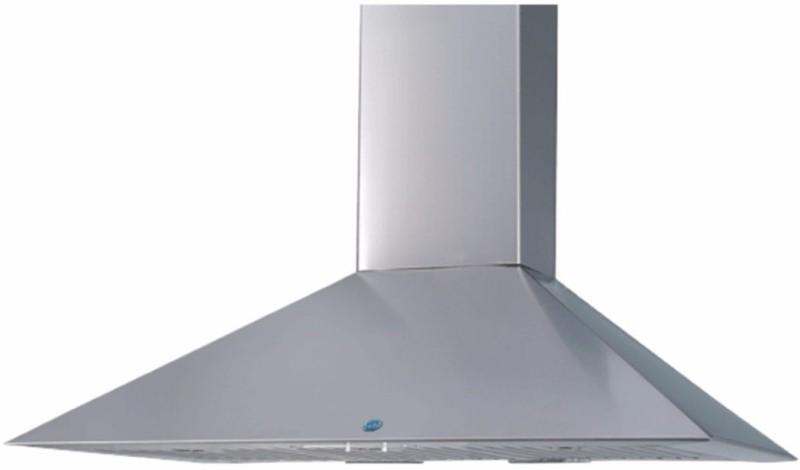 GLEN GL 6055 SS 90 cm Wall Mounted Chimney(Silver 1250)