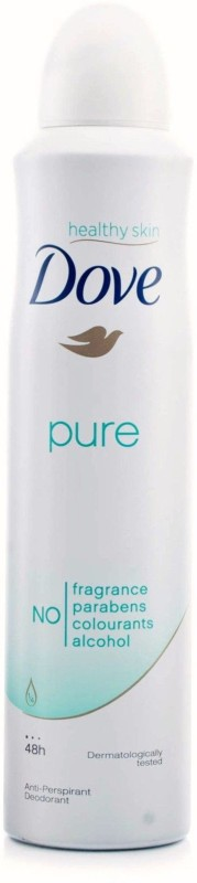 Dove Imported (Made In EU) Pure Antiperspirant Body Spray - For Women(150 ml)