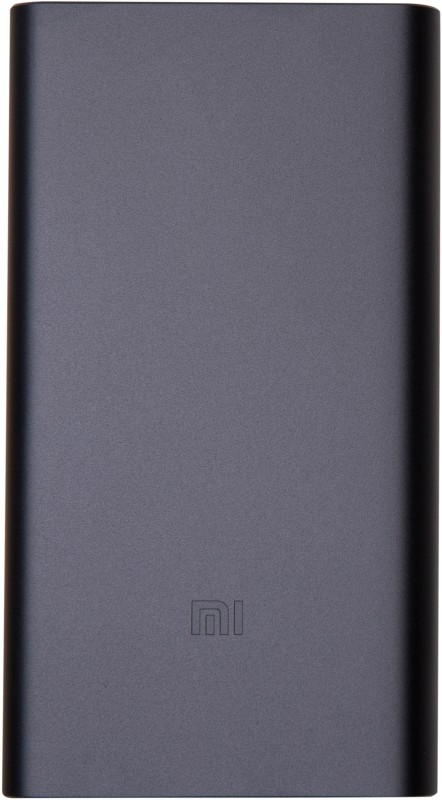 Mi 10000 mAh Power Bank(Black, Lithium Polymer)