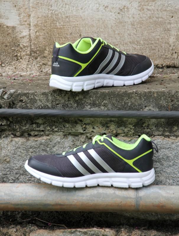 ADIDAS MARLIN 5.0 M Running Shoes For Men(Black, Grey)