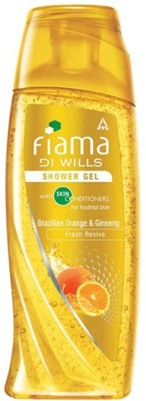 Fiama Di Wills Brazillian Orange & Ginseng (Pure Rio Spirit) Shower Gel(250 ml)