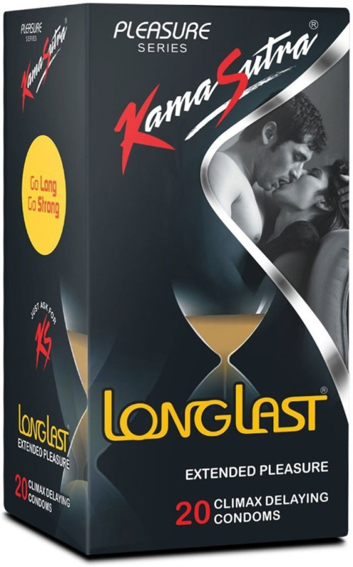 KamaSutra Long Last Condom(Set of 1, 3S)