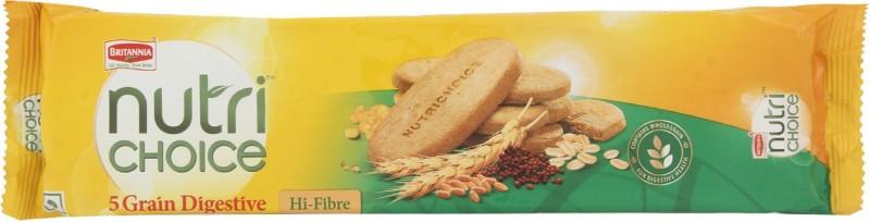 Britannia Nutri Choice 5 Grain Digestive Cookies(100 g)