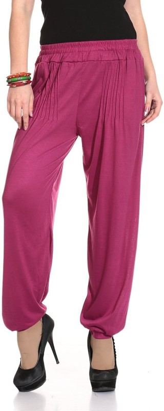 Legis Solid Cotton Girls Harem Pants