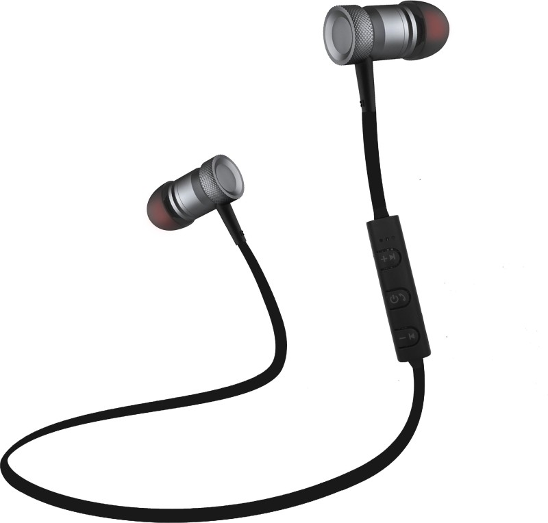 Envent LiveTune 505 Headset with Mic(Grey, In the Ear)
