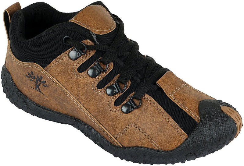 Alexx Boys Lace Casual Boots(Brown)