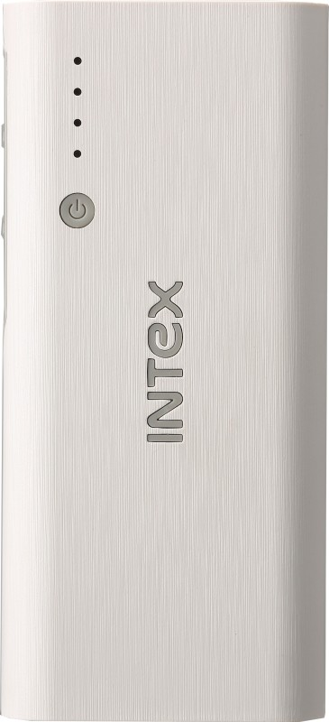 Intex 12500 mAh Power Bank (Fast Charging, 10 W)(White, Grey, Lithium-ion)
