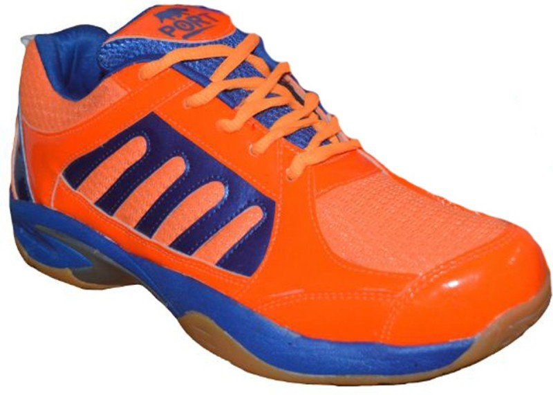 PORT WOMENS PRIME Badminton Shoes(Orange)