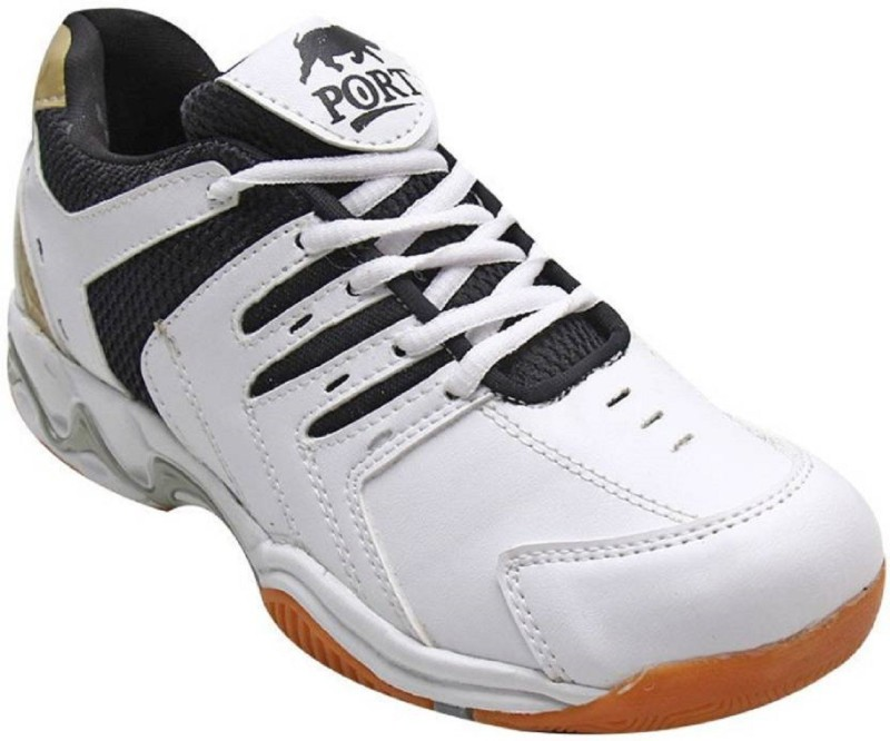 PORT MENS PROTON Badminton Shoes(White)
