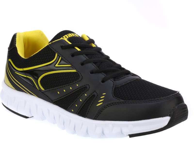 Sparx Running Shoes(Black, Yellow)