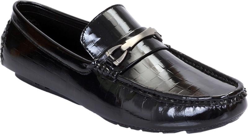 San Frissco EC 294 Loafers For Men(Black)