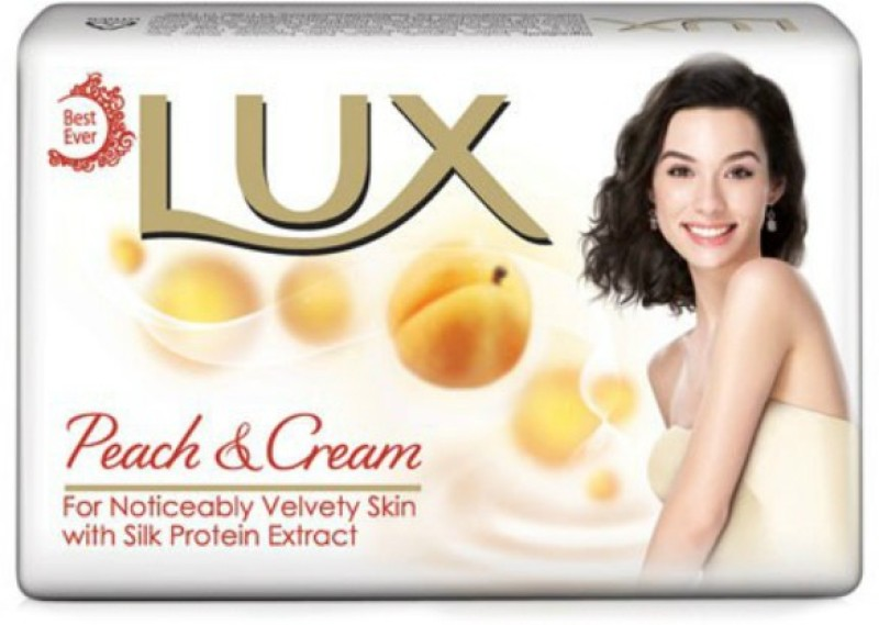 LUX Peach & Cream Soap(450 g, Pack of 3)