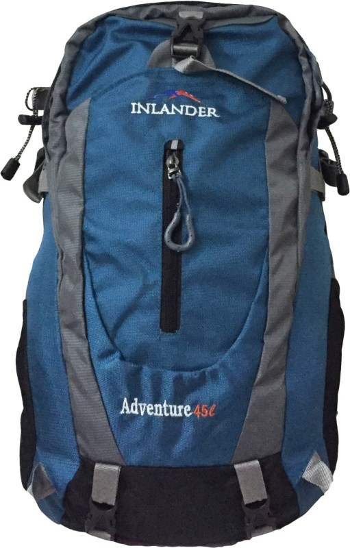 Inlander 1018 Sea Green Travel Daypack Rucksack - 35 L(Green)