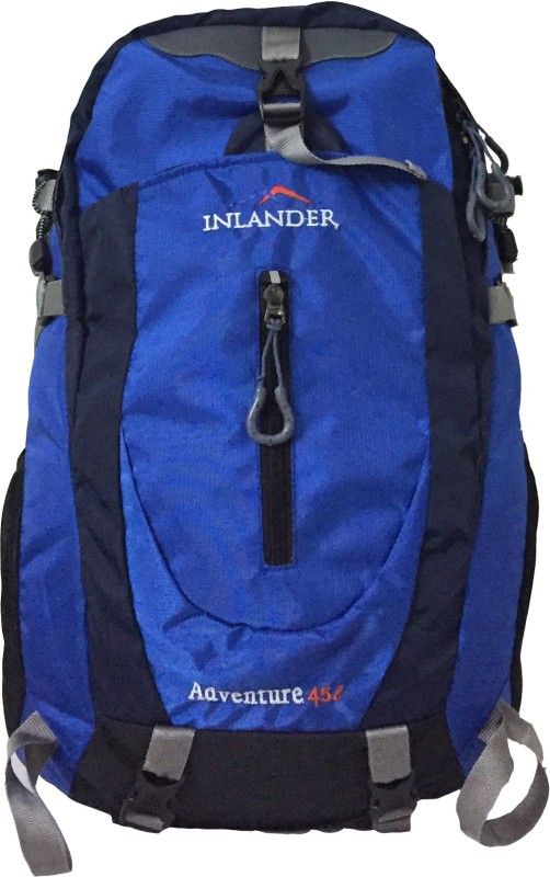 Inlander 1018 Blue Travel Daypack Rucksack - 35 L(Blue)