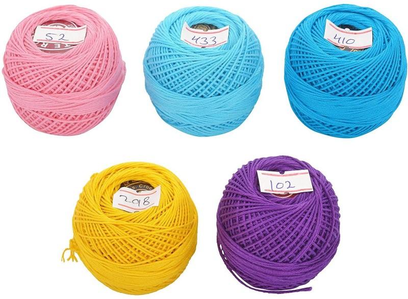 Vardhman multicolor Thread(1000 m Pack of5)
