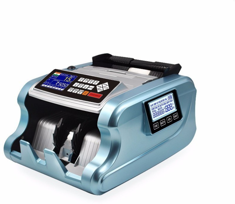 RICHES GEMSTONES HB-2300 MIX VALUE COUNTER Note Counting Machine(Counting Speed - 1000 notes/min)