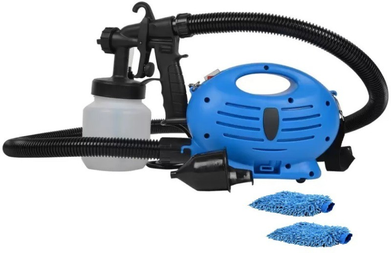 KUMARRETAIL combo of Electric Portable Spray Painting Machine with hand duster paint005 Airless Sprayer(Blue)