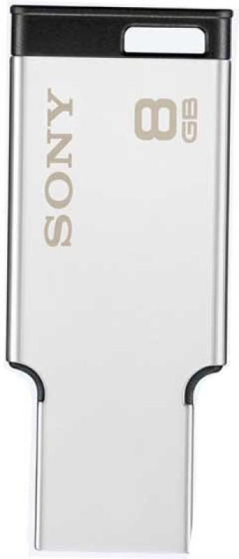 Sony USM8MX 8 GB Pen Drive(Grey)