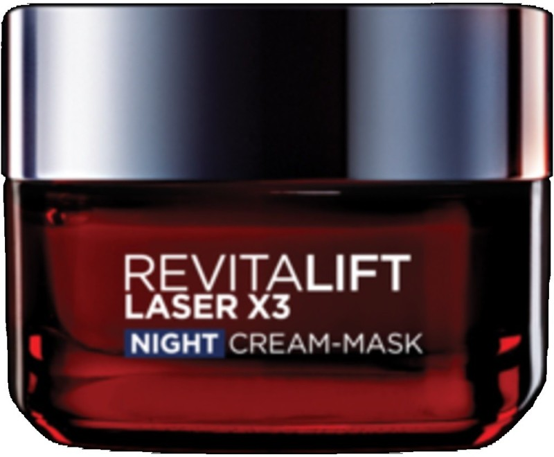 LOreal Imported Revitalift Laser x3 Night Cream Mask(50 ml)