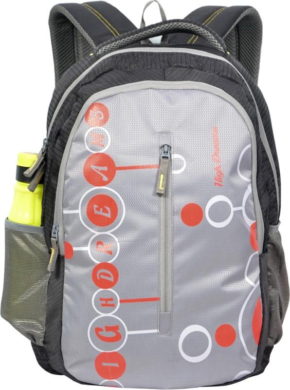 High Dreams HDRBP004 21 L Backpack(Grey)