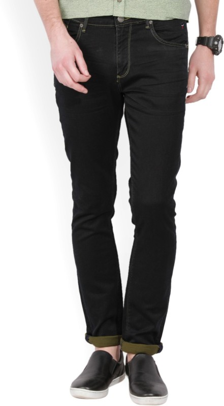 LP Jeans by Louis Philippe Skinny Men Black Jeans