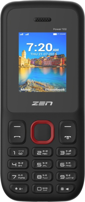 Zen Power 102(Black & Red) image