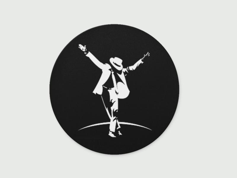 Digiclan Dancing Jackson Mousepad(Black)