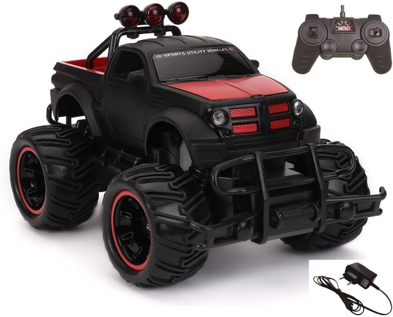 Hariom Enterprise Mad Racing Cross- Country Remote Control Monster Truck Car(Multicolor)