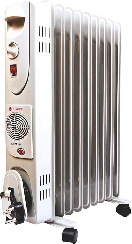 Singer Sofer 9 Fin Oil Filled Room Heater