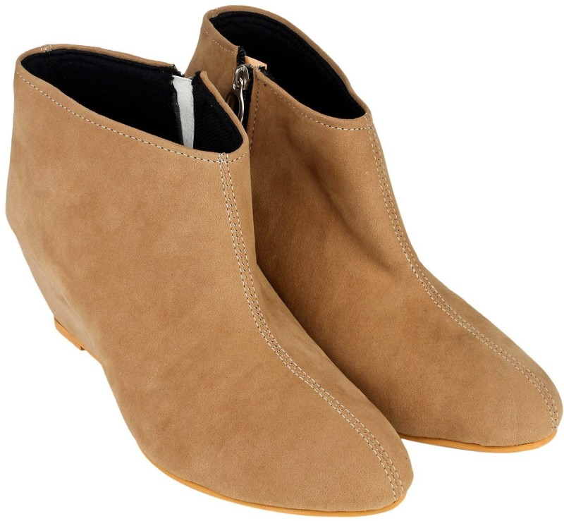 Meriggiare Boots For Women(Tan)