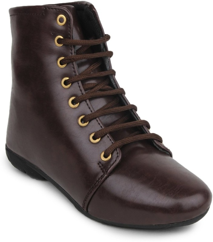Meriggiare Boots For Women(Brown)