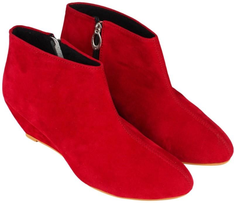 Meriggiare Boots(Red)