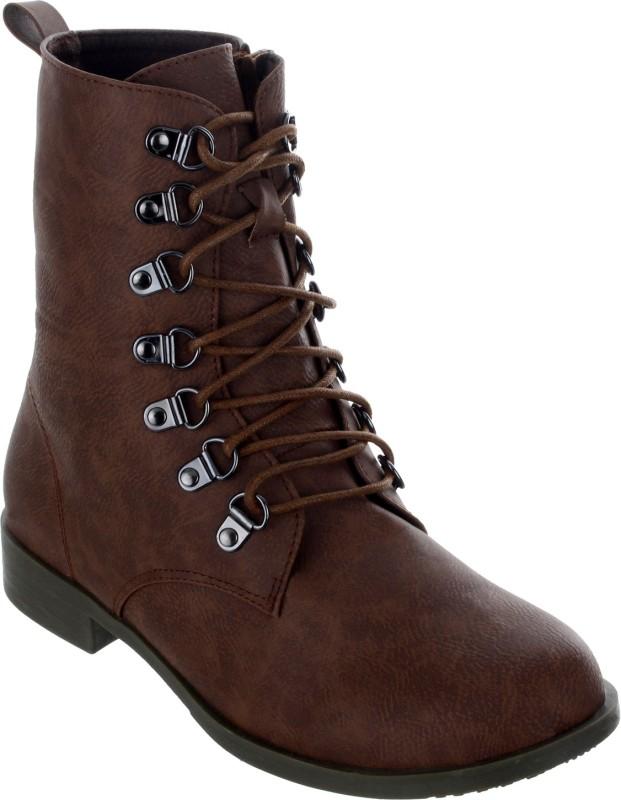 Shuz Touch Boots For Women(Tan)