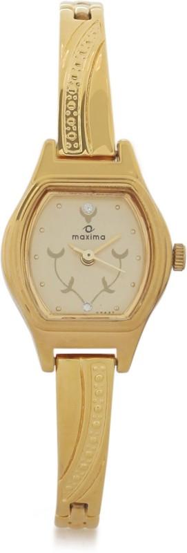 Maxima 09437BPLY Mac Gold Women's Watch image