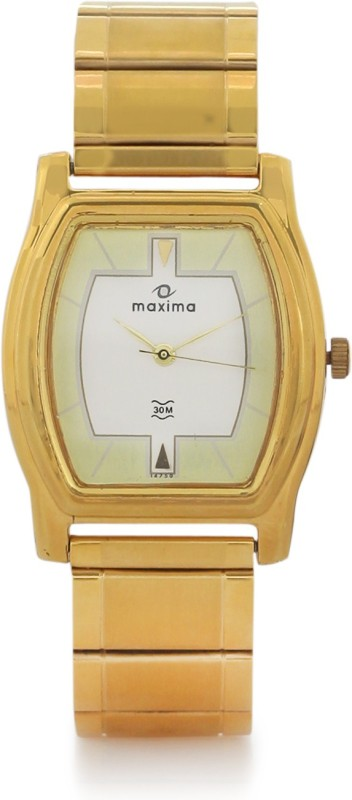 Maxima 14750CPGY Mac Gold Men's Watch image