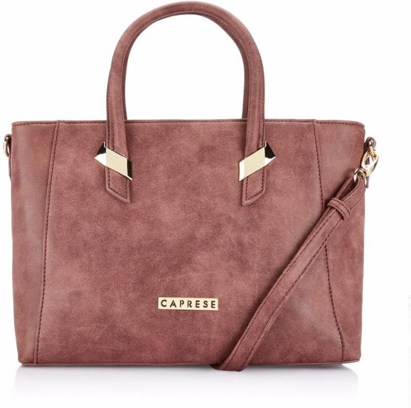 Caprese Hand-held Bag(Brown)