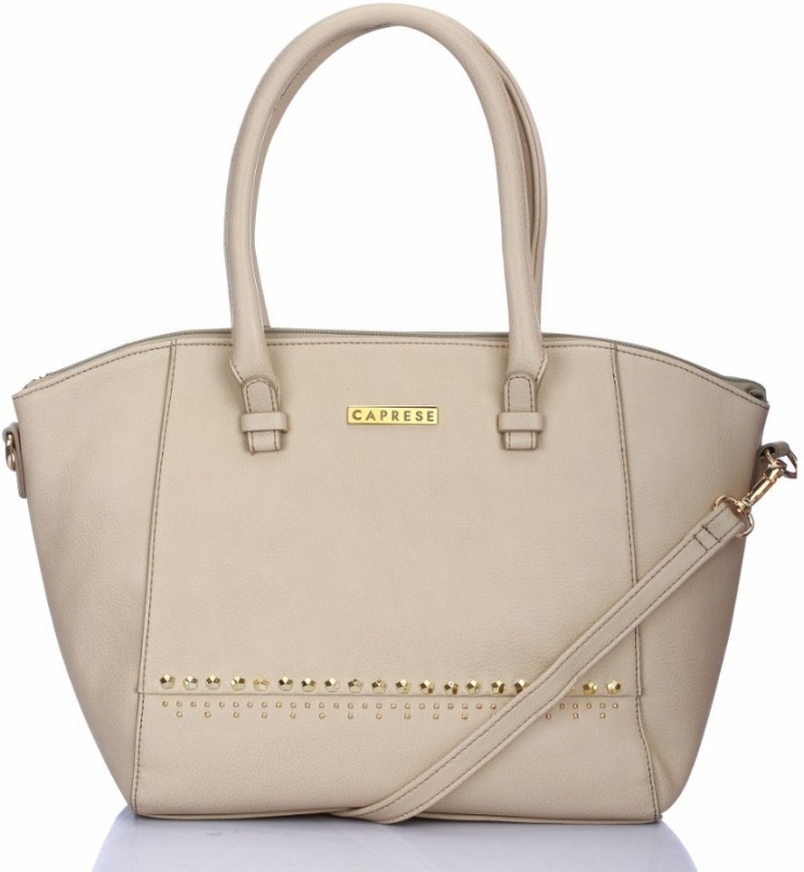 Caprese Hand-held Bag(Beige)