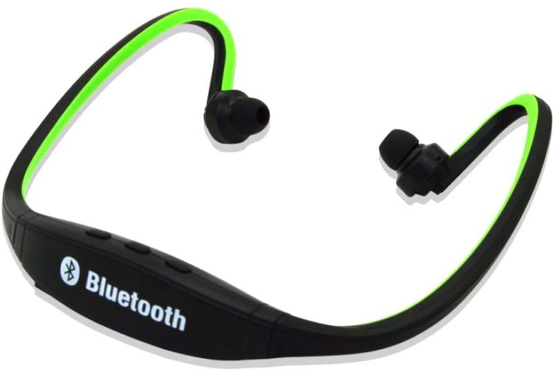 Defloc BS19C 27 Wired & Wireless bluetooth Headphone(Green, In the Ear)