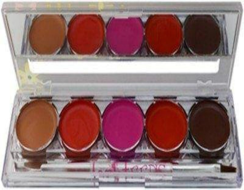 Kiss Beauty 5 COLOUR LIPGLOSS PALETTE NO 1