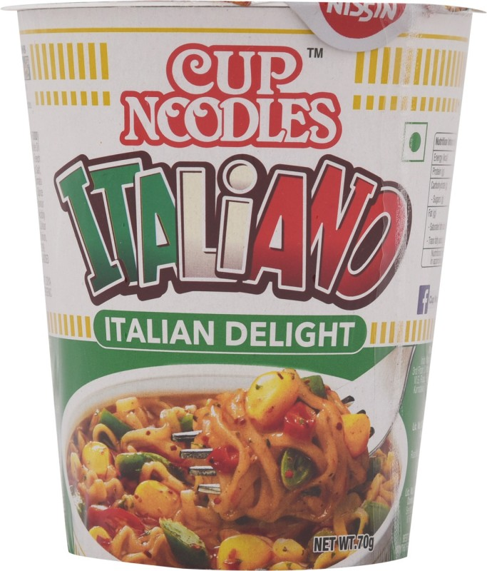 Nissin Italiano Cup Noodles 70 g(Vegetarian)