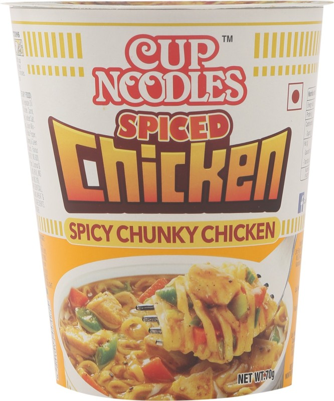 Nissin Spiced Chicken Cup Noodles 70 g(Non-vegetarian)