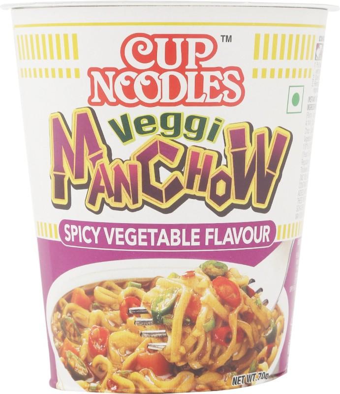 Nissin Veggie Manchow Cup Noodles 70 g(Vegetarian)