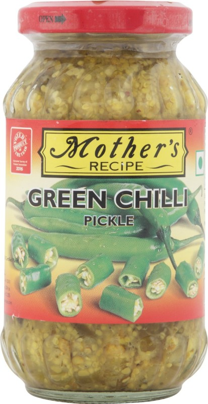 Mothers Recipe Green Chili Pickle(300 g)
