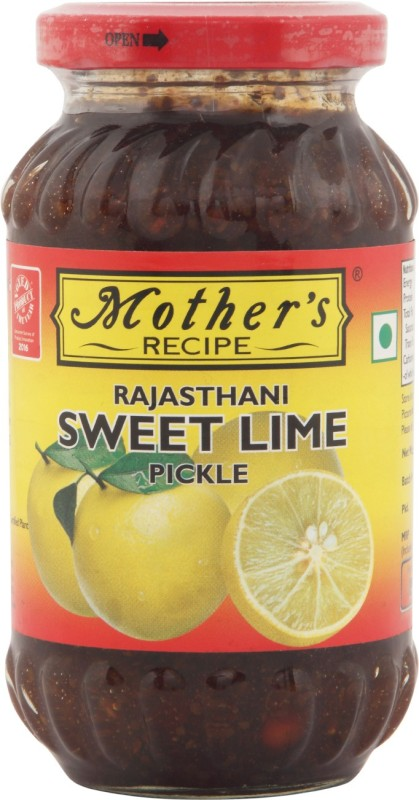 Mothers Recipe Rajasthani Lime Pickle(350 g)