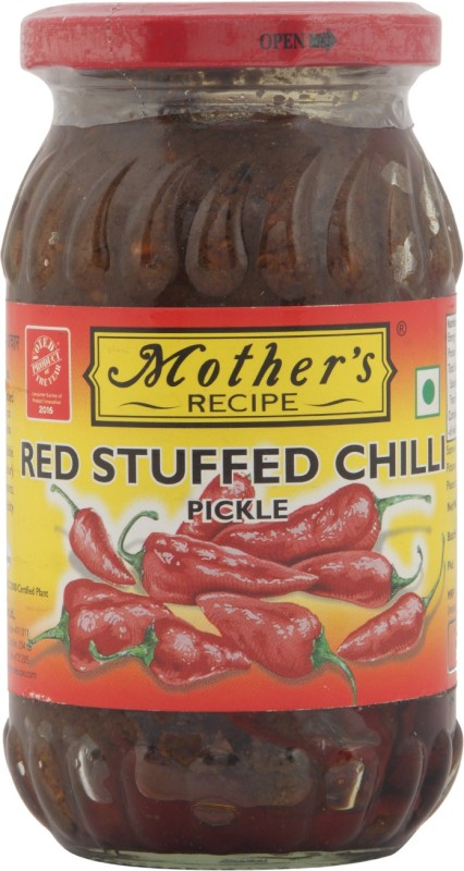 Mothers Recipe Stuffed Red Chili Pickle(400 g)