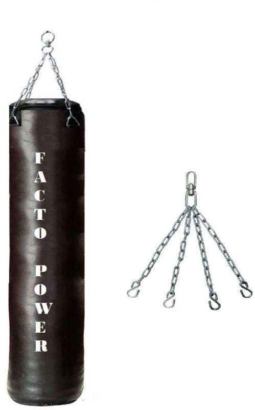 FACTO POWER 6.0 FEET LONG, SRF-STANDARD MATERIAL, UNFILLED WITH CHAIN Hanging Bag(6, 2 kg)